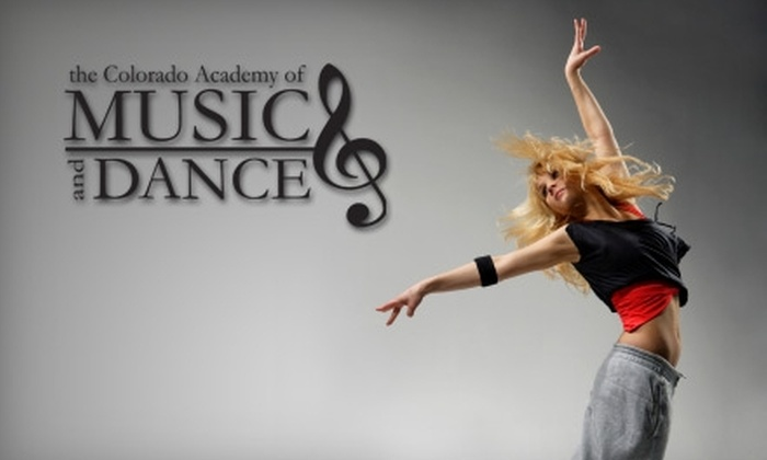 Colorado Academy of Music and Dance - Northeast Colorado Springs: $30 for One Month Group Dance Class, Dance Shoes, and One-Year Registration at Colorado Academy of Music and Dance (Up to $124 Value)