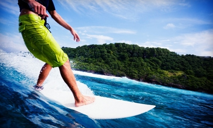 School of Surf - Cocoa Beach: $20 for One-Hour Group Surfing Lesson at School of Surf in Cocoa Beach ($40 Value)