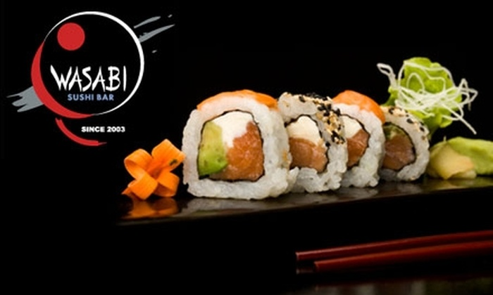 Wasabi Sushi Bar - Glendale: $15 for $30 Worth of Sushi and Traditional Japanese Dinner at Wasabi Sushi Bar