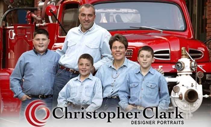 "Christopher Clark Designer Portraits - Delano: $99 for a Family Photography Session with a 11""x14"" Canvassed Wall Portrait at Christopher Clark Designer Portraits"