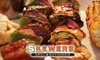 Skewers Grill & Rotisserie - Petaluma: $5 for $10 Worth of Fare and Drink at Skewers Grill & Rotisserie