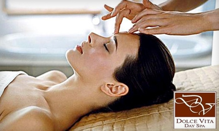 Dolce Vita Day Spa - Bonney Lake: $39 for a Signature Facial ($75 Value) or $29 for a Swedish Relaxation Massage ($65 Value) at Dolce Vita Day Spa