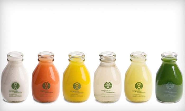 Organic Avenue - Multiple Locations: $125 for a Three-Day LOVE*deep Juice Cleanse from Organic Avenue ($250 Value)