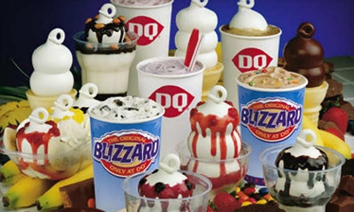 Dairy Queen/Orange Julius - Upper Christiana: $5 for $10 Worth of Frozen Treats and Smoothies at Dairy Queen/Orange Julius in Christiana Mall Newark