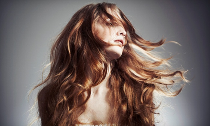 Tribeology Salon - Overland Park: Haircut Package, Partial-Highlights Package, or Full-Highlights Package at Tribeology Salon in Overland Park