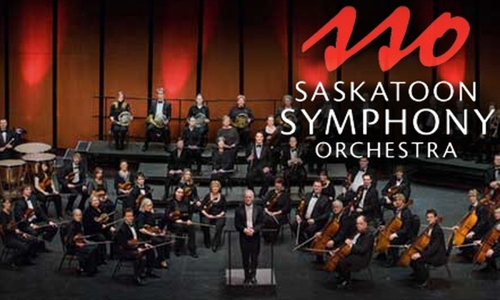 Saskatoon Symphony Orchestra - Central Business District: Half Off Adult Admission to the Saskatoon Symphony Orchestra. Choose from Four Options.