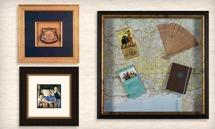 FastFrame Annapolis - Annapolis: Small, Medium, or Large Shadowbox or $40 for $100 Toward Custom Framing at FastFrame Annapolis (Up to 68% Off)