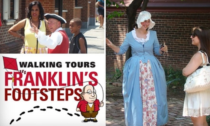 Philadelphia Trolley Works - Center City East: $7 for One Ticket to the Franklin's Footsteps Walking Tour