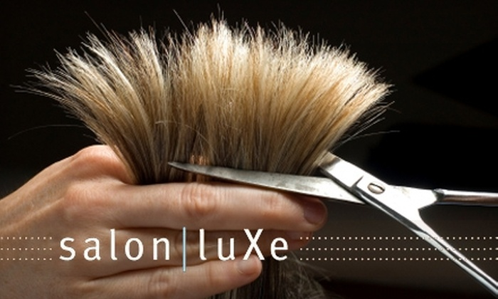 Salon Luxe - Hendersonville: $60 for a Color, Cut, and Deep-Conditioning Treatment at Salon Luxe in Hendersonville (Up to $140 Value)