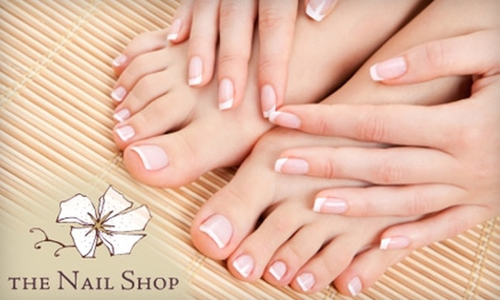 The Nail Shop - Multiple Locations: $25 for $50 Worth of Nail Services at The Nail Shop