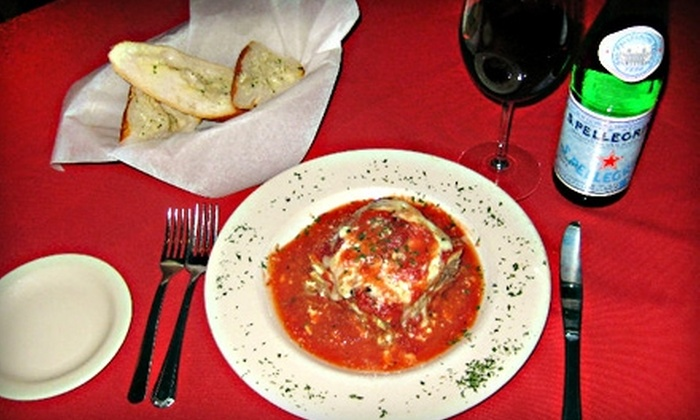 Italian Cafe - Northwest Harris: $10 for $20 Worth of Italian Cuisine at Italian Cafe