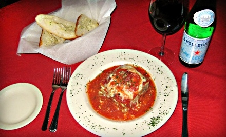 $20 Groupon to Italian Cafe - Italian Cafe in Spring