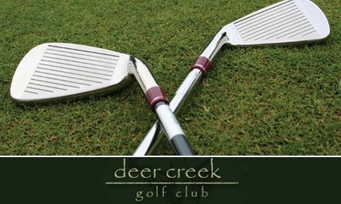 Deer Creek Golf Club - Deer Creek: $27 for 18 Holes of Golf and a Golf Cart at Deer Creek Golf Club (Up to $55 Value)