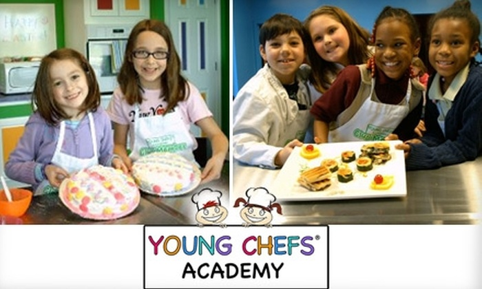 Young Chefs Academy - Woodward Park: $15 for One Cooking Class at Young Chefs Academy ($30 Value)