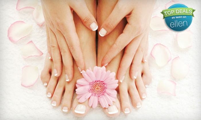 Shear Style - Ann Arbor: Manicure, Shellac Manicure, Mani-Pedi, or Shellac Mani-Pedi at Shear Style (Up to 71% Off)