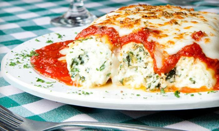 Mama Maria's Ristorante - Fairmont: $15 for $30 Worth of Italian Cuisine at Mama Maria's Ristorante in Pacifica