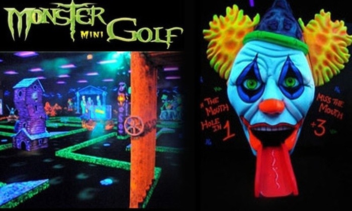 Monster Mini Golf - 6, Savage: $15 for Four Ghoul-Infused Rounds of Monster Mini Golf in Jessup ($30 Value)