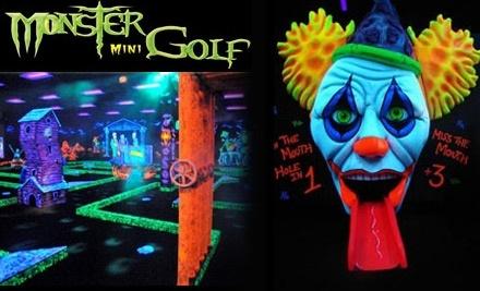 Monster Mini Golf - Monster Mini Golf in Jessup