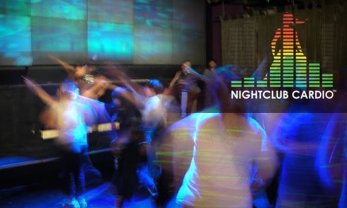 Nightclub Cardio - Hollywood: $10 for Two After-Dark Dance-Workout Classes at Nightclub Cardio ($30 Value)