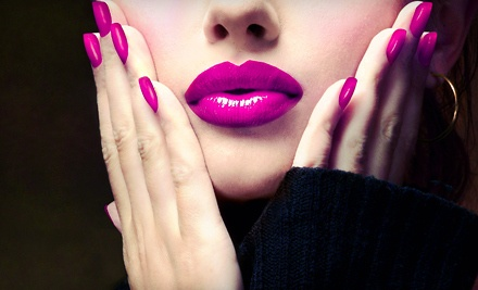30-Minute Shellac Manicure (a $40 value) - Bellazza Salon and Boutique in Tucson