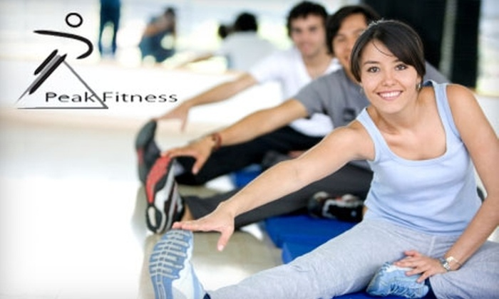 Peak Fitness - Seymour: $25 for 10 Drop-In Fitness Classes at Peak Fitness in Seymour