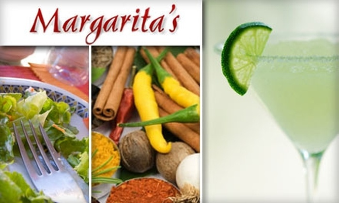 Margaritas - Lenexa: $5 for $10 Worth of Mexican Fare and Drinks at Margarita's