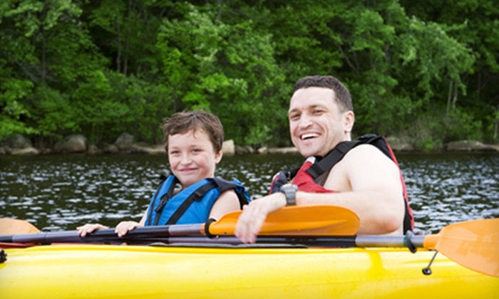 Camp Eagle - Rocksprings: $119 for a Father-and-Son All-Inclusive Weekend Retreat on April 13–15 at Camp Eagle in Rocksprings ($275 Value)