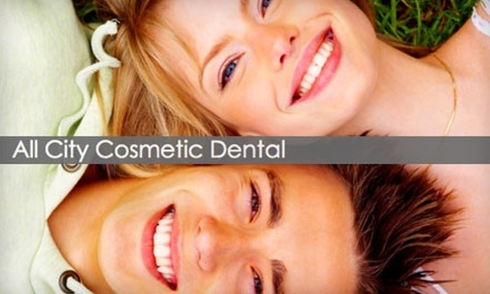 All City Cosmetic Dental Care - Huntington Station: $59 Dental Exam, Cleaning, and Set of X-rays at All City Cosmetic Dental Care ($202 Value)