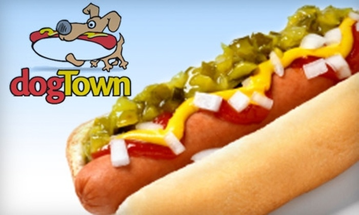 Dogtown - Park Avenue: $5 for $10 Worth of Specialty Hot Dogs, Fries, Sandwiches, and More at Dogtown