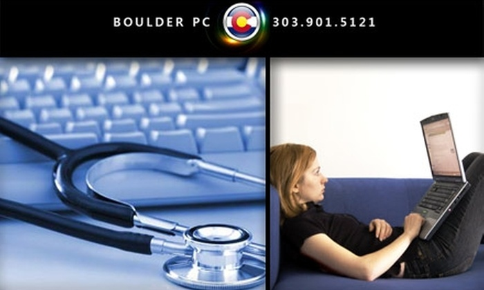 Boulder PC - Denver: $10 for a Remote PC Tune-Up from Boulder PC ($25 Value)