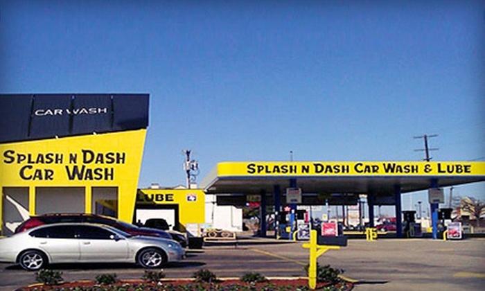 Splash And Dash Car Wash >> Splash N Dash Car Wash
