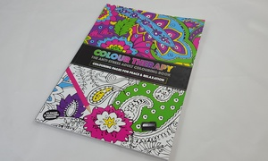 Anti-Stress Adult Colouring Book
