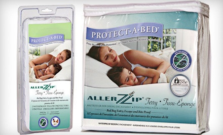 Protect-A-Bed Allerzip Terry Mattress Encasement with Bug Lock and Secure Seal: Twin (a $120 value) - Protect-A-Bed Allerzip Terry Mattress Encasement in Toronto