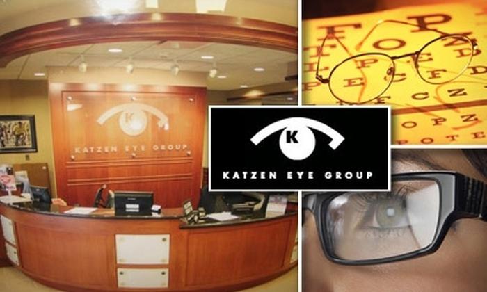 Katzen Eye Group - Multiple Locations: $50 for $200 Worth of Eyewear Plus Eye Exam at Katzen Eye Group ($385 Value)