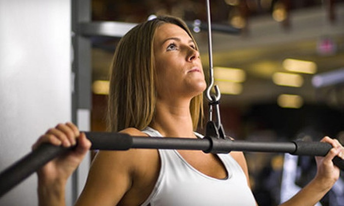 Gold's Gym - Multiple Locations: One- or Two-Month Membership Package with Personal Training at Gold's Gym (Up to 79% Off)