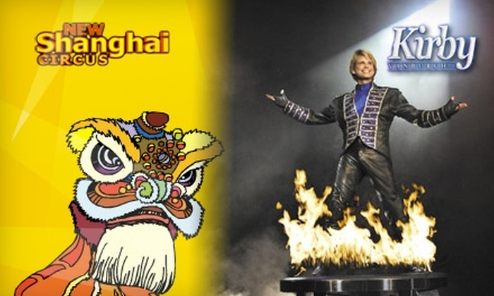 """Branson Ticket Agency - Multiple Locations: Two Tickets to the """"Kirby VanBurch Magic Show"""" or """"The Acrobats of China"""" from Branson Ticket Agency (Up to $74 Value)"""