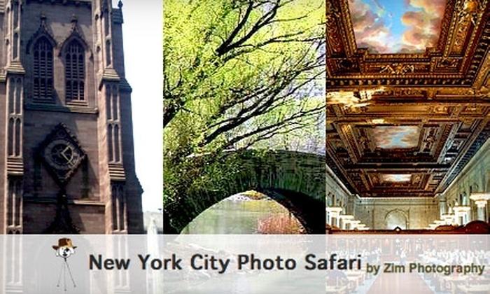 null - New York City: $40 for an Intermediate Nuts & Bolts Photo Safari Class from New York City Photo Safari ($80 Value)