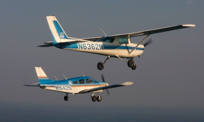 Box Aviation - Montgomery: $119 for Introductory Flight Lesson Plus Flight Certificate and Koozie from Box Aviation ($199 Value)
