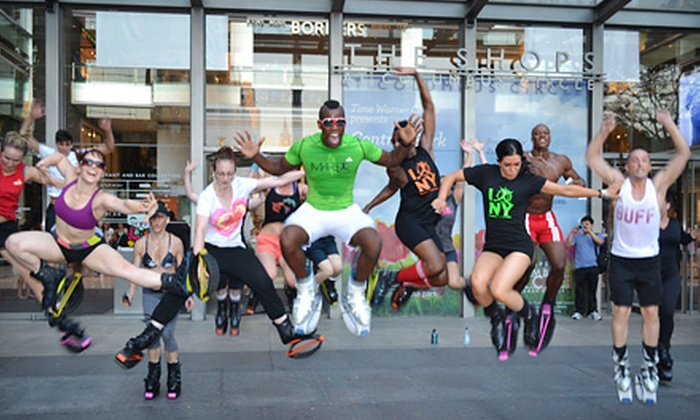 Mario the Trainer - Multiple Locations: $39 for Four Kangoo Fitness Classes with Boot Rental from Mario the Trainer ($80 Value)