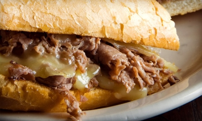 Cheese Steak Restaurant - Multiple Locations: $5 for $10 Worth of Philly Cheesesteaks, Salads, and More at Cheese Steak Restaurant