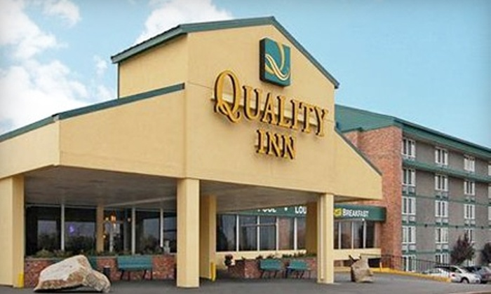 Quality Inn Downtown 4th Avenue - East Central: $45 for One-Night Stay at Quality Inn Downtown 4th Avenue (Up to $90 Value)
