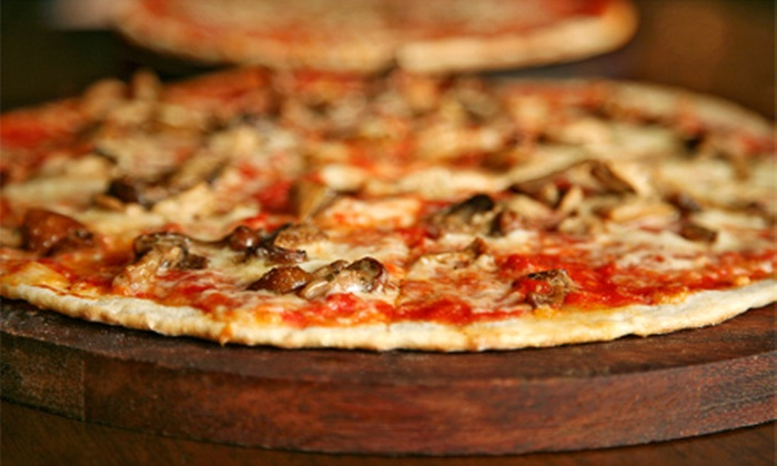 John Dough's Pizza Bar - Norwalk: Pizza at John Dough's Pizza Bar (Up to 56% Off). Two Options Available.