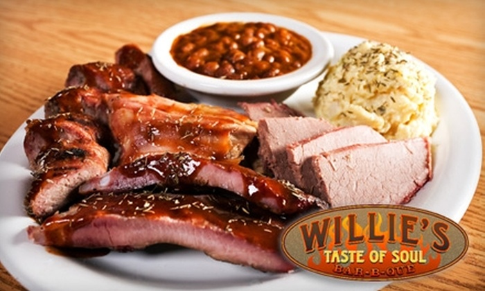 Willie's Taste of Soul Bar-B-Que - Columbia City: $15 for $30 Worth of Fare and Drinks at Willie's Taste of Soul Bar-B-Que