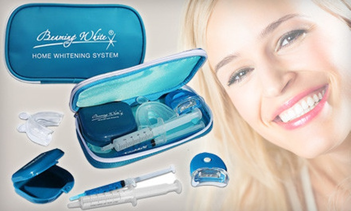 Sparkling Teeth Whitening Smile Clinic - Strathcona Industrial Park: $29 for a Beaming White Deluxe Home Whitening Kit from Sparkling Teeth Whitening Smile Clinic ($116.95 Value)