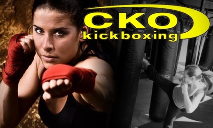 CKO Kickboxing Brooklyn - Carroll Gardens: $49 for a 10-Class Punchcard at CKO Kickboxing