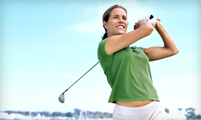 Enhanced Care Aurora Walk-in & Medical Clinic - Aurora: Titleist Golf-Swing Analysis for One or Two at Enhanced Care Aurora Walk-In & Medical Clinic (Up to 76% Off)
