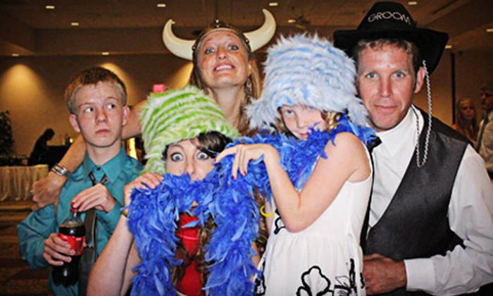 One Stop Photo Booths - Sioux Falls: Two-, Three-, or Four-Hour Photo-Booth Rental from One Stop Photo Booths (Up to 55% Off)