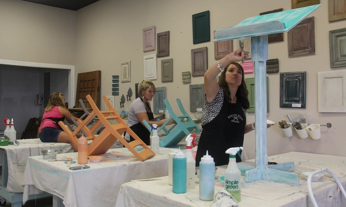 Rescued Relics Studio - Rockledge: Up to 51% Off Furniture Painting Class at Rescued Relics Studio
