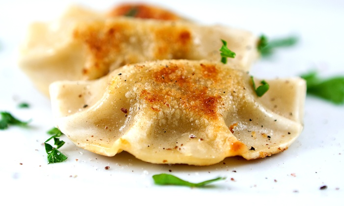 Happy Dumplings - Gloucester: $11 for Two Groupons, Each Good for $10 Worth of Taiwanese Fusion Food at Happy Dumplings ($20 Value)