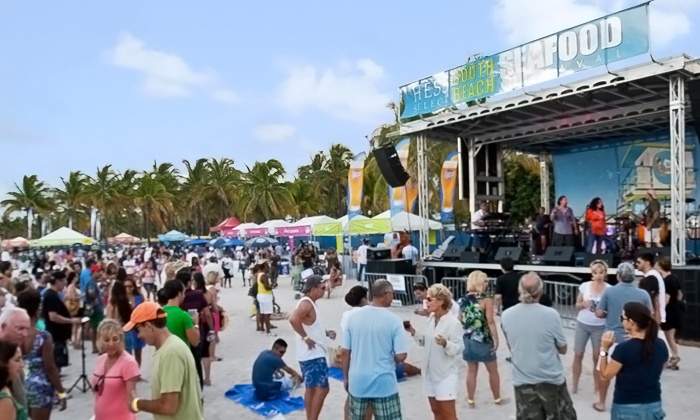 SOBE Seafood Festival - Miami Beach: SOBE Seafood Festival for Two or Four at Lummus Park on Saturday, October 25 (Up to 51% Off)